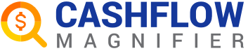Cashflow magnifier logo